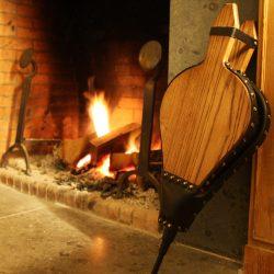 Handmade fire bellows