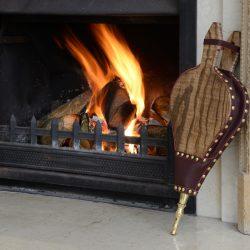 hand made fire bellows from Morgan Bellows